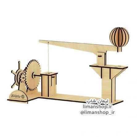 پازل چوبی سه بعدی – مکانیکی ماشین مرکب