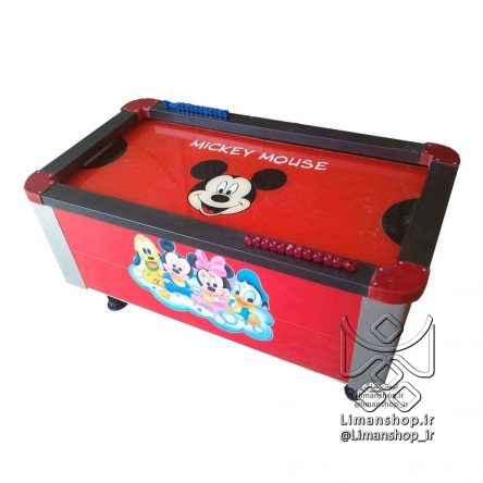 ایرهاکی طرح میکی موس Mickey Mouse Air Hockey